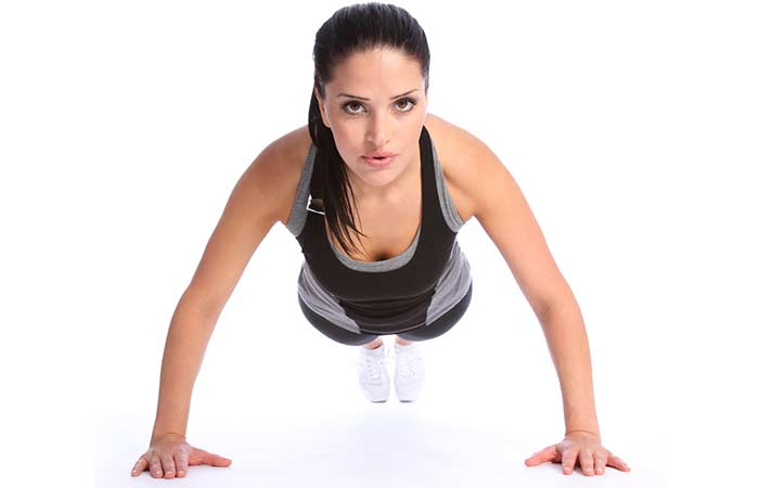 Arm Workouts Without Using Weights - Push-ups