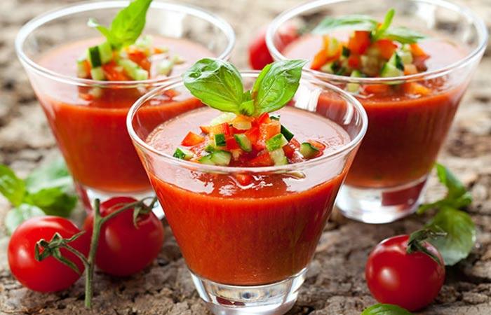 30. Tomato Gazpacho