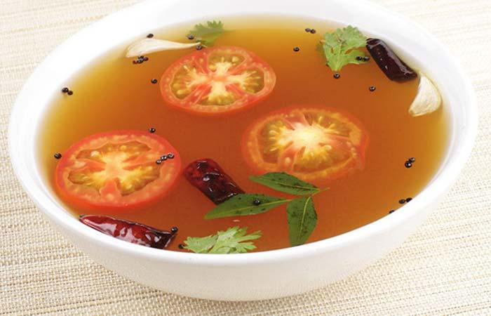 35. Lemon Tomato Rasam