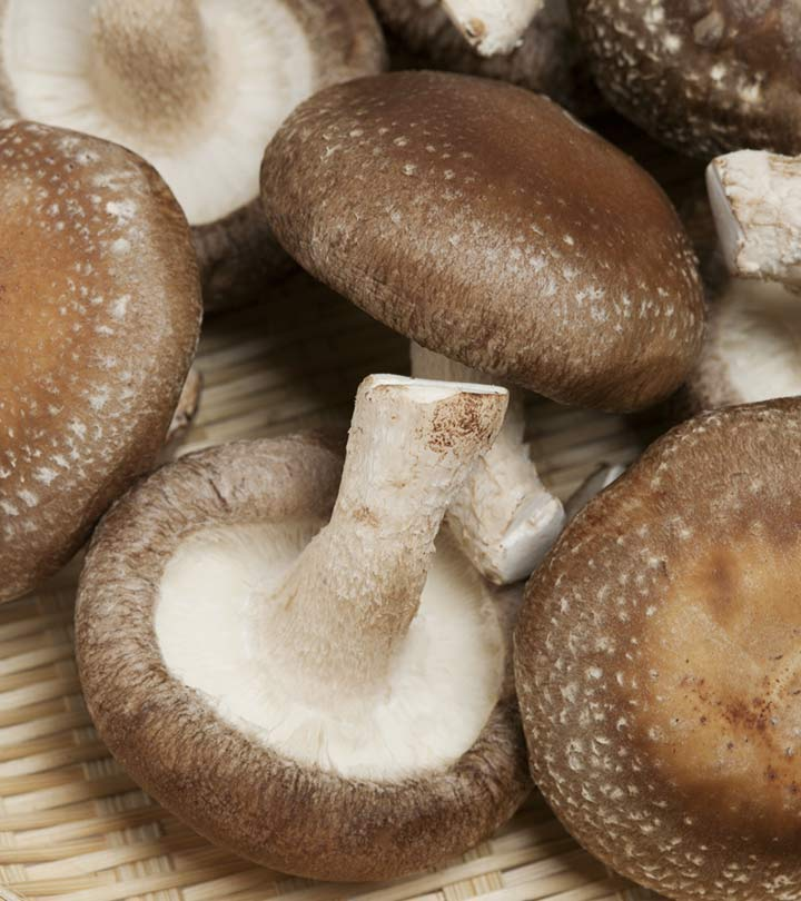 12 Amazing Benefits Of Shiitake Mushrooms For Skin And Health