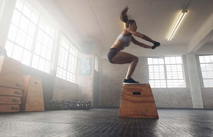 Best Plyometric Exercises - Box Jumps