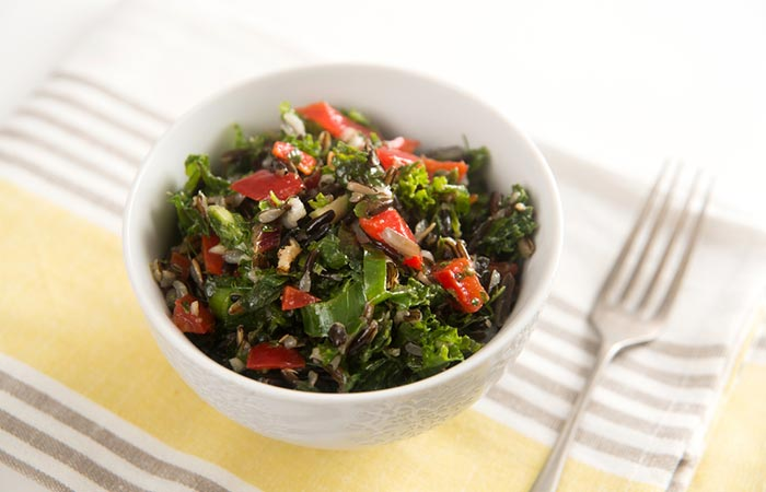 4. Caramelized Onions And Red Chard Salad