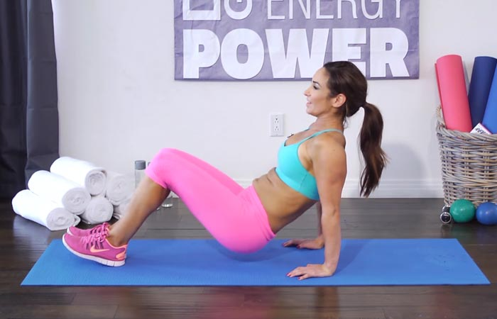 Arm Workouts Without Using Weights - Floor Dips