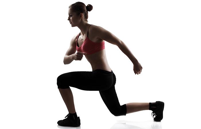 Calisthenics Exercises - Front & Back Lunge