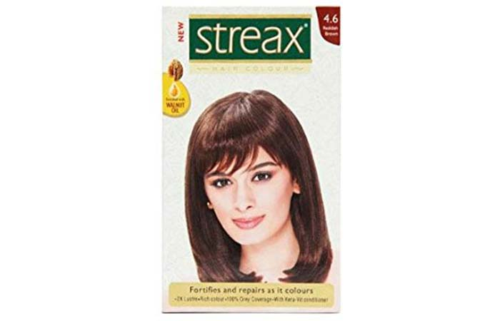 Brown Hair Color - Streax Reddish Brown Hair Colour