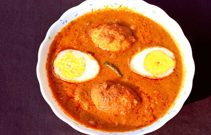 Indian Egg Recipes For Dinner - Eggs In Poppy Seeds Sauce
