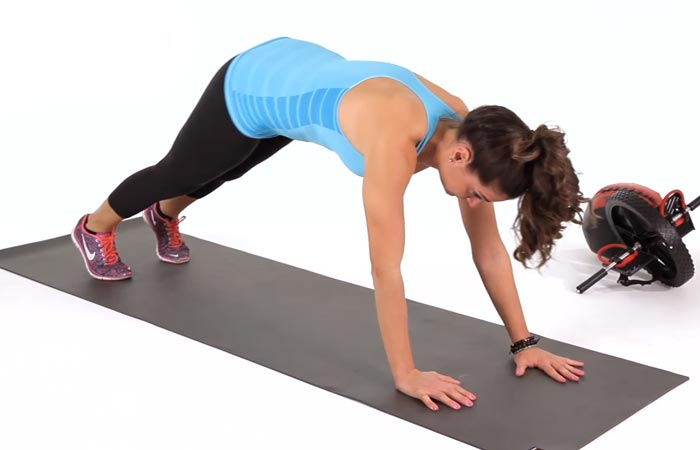 Arm Workouts Without Using Weights - Inchworm