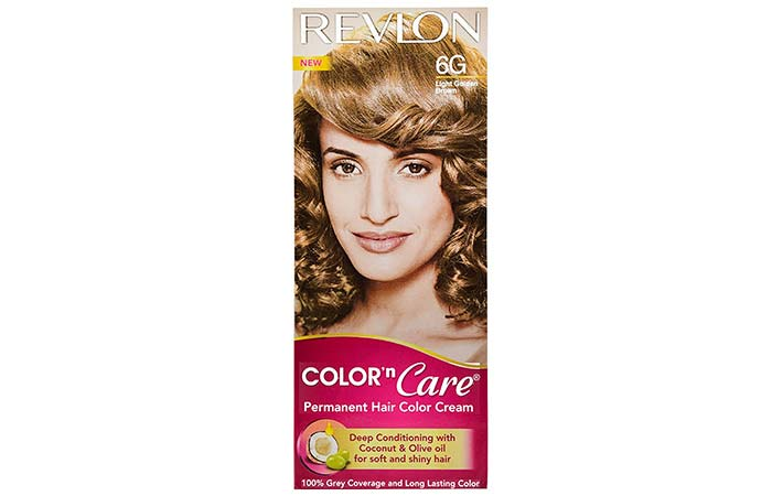 Brown Hair Color - Revlon Color N Care Light Golden Brown