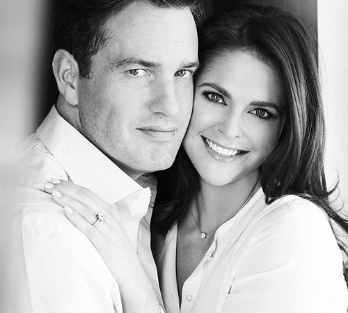 princess madeleine with her husband