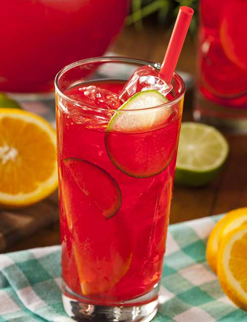 6. Cherry Lemonade
