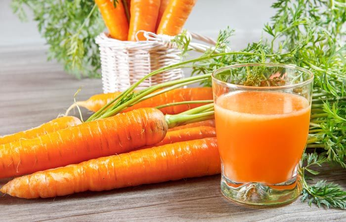 Natural Energy Drinks For Gym - Carrot Juice