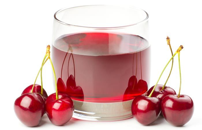 Natural Energy Drinks For Gym - Cherry Juice