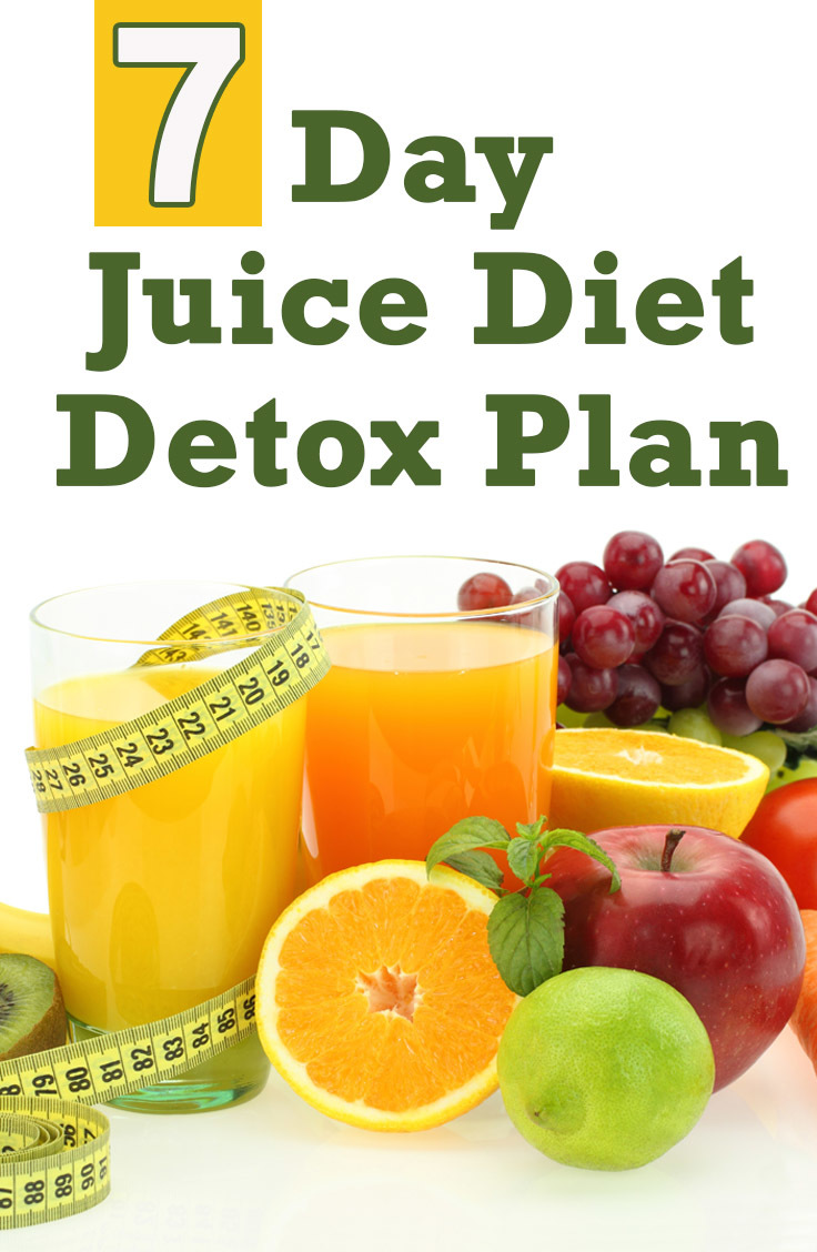 7 day juice diet detox plan. Black Bedroom Furniture Sets. Home Design Ideas