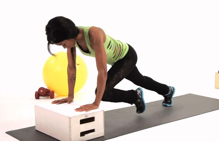 Best Plyometric Exercises - Mountain Climbers