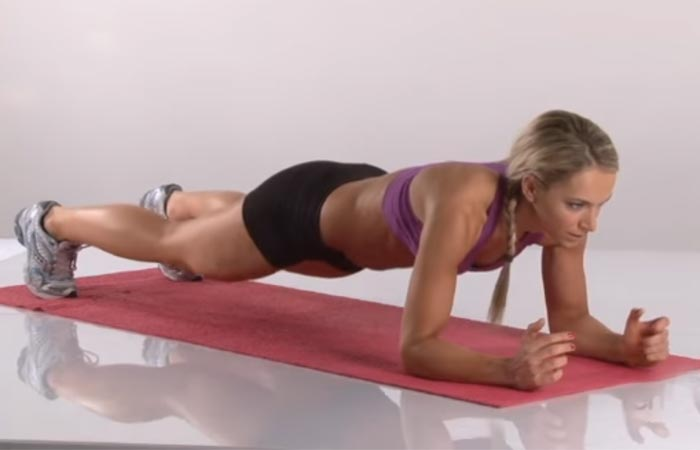 Arm Workouts Without Using Weights - Plank Up-Downs