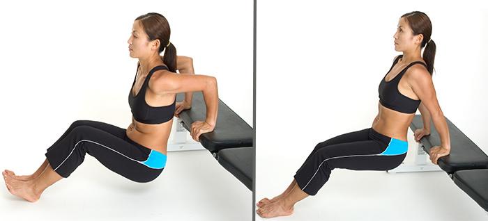 Calisthenics Exercises - Triceps Dips