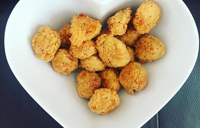 8. Chicken Poppers