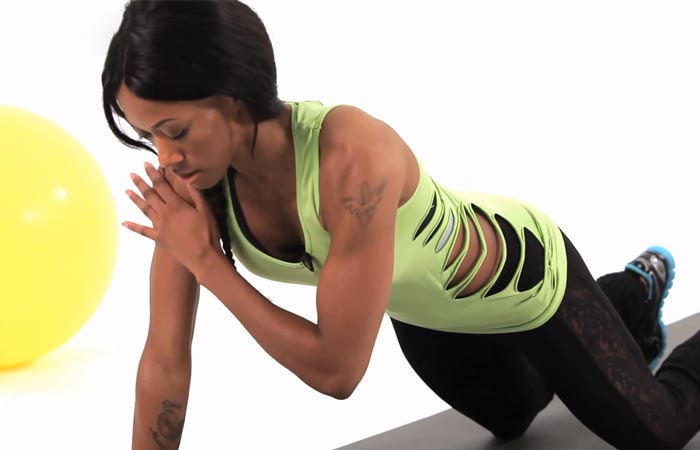 Arm Workouts Without Using Weights - Plank Taps