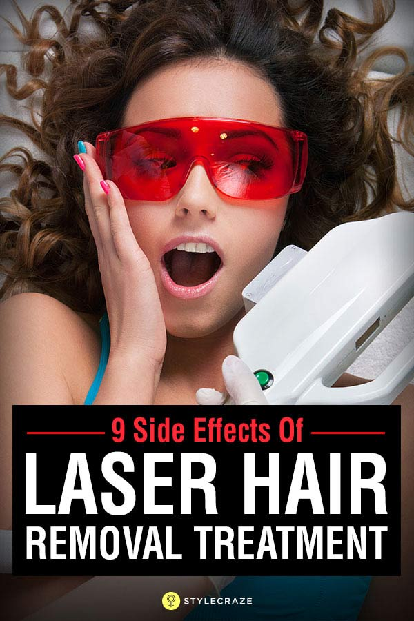 Side Effects Of Laser Hair Removal You Should Be Aware Of
