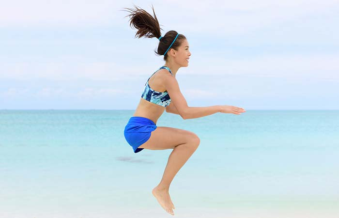 Best Plyometric Exercises - Burpee Knee Tuck