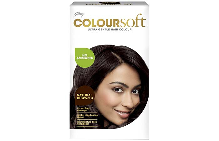 Brown Hair Color - Godrej Coloursoft Natural Brown