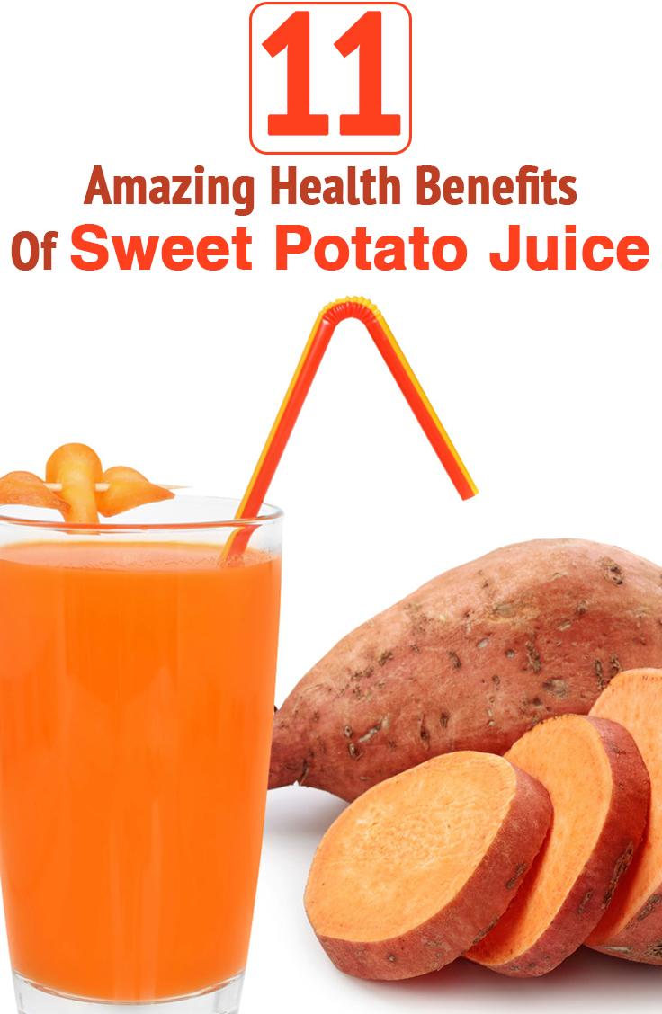 11 Health Benefits Of Sweet Potatoes