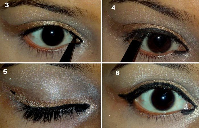 Angelina Jolie Inspired Eye Makeup Tutorial (4)