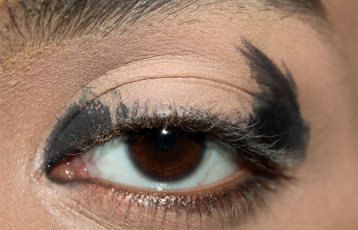 Black And White Eye Makeup Step By Step Tutorial With Pictures