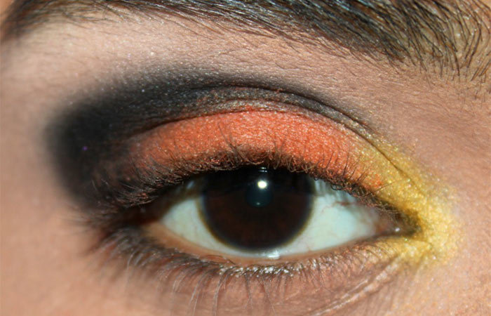 Butterfly Inspired Eye Makeup Tutorial (3)