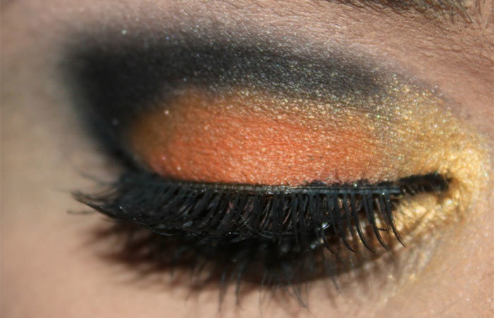 Butterfly Inspired Eye Makeup Tutorial (4)