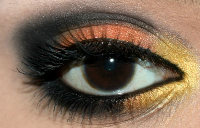 Butterfly Inspired Eye Makeup Tutorial (5)