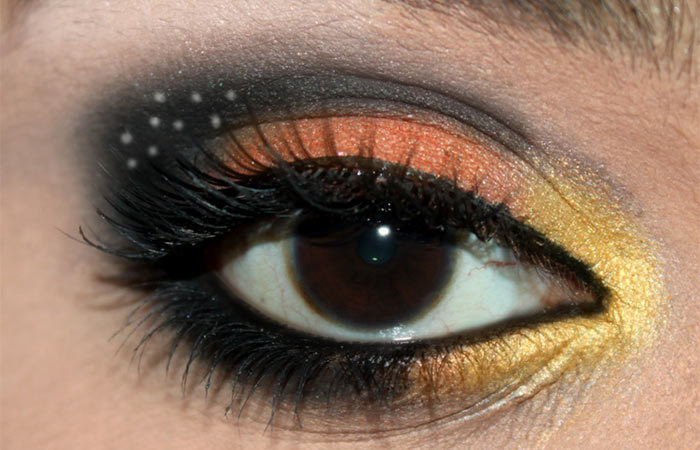 Butterfly Inspired Eye Makeup Tutorial (6)