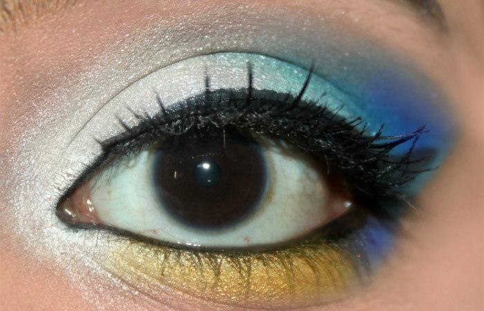 Cinderella Inspired Eye Makeup Tutorial (6)