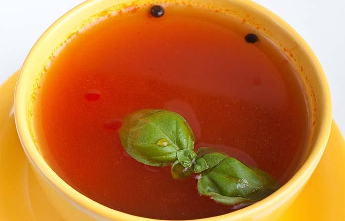 Clove Flavored Tomato Soup