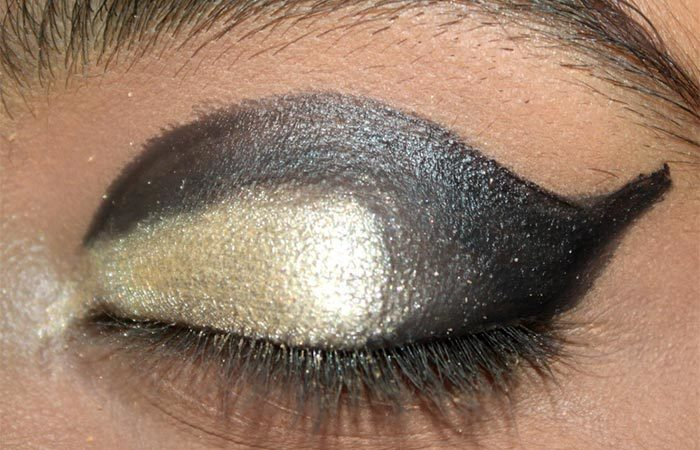 Cut Crease Arabic Eye Makeup Tutorial (5) - Arabic Eye Makeup
