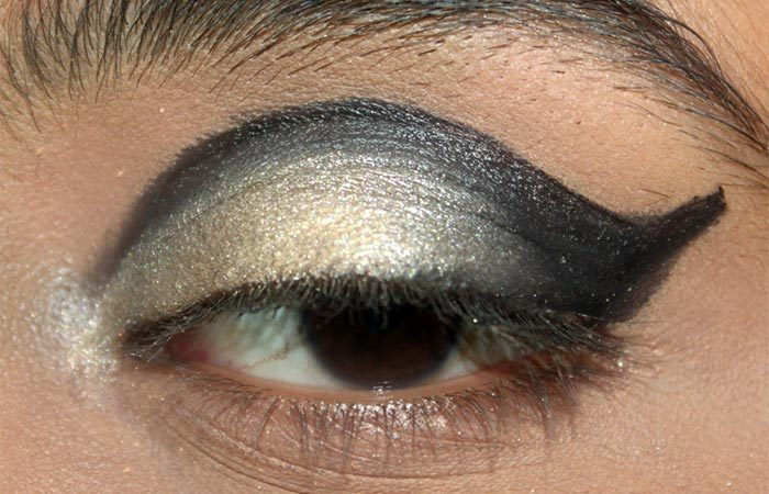 Cut Crease Arabic Eye Makeup Tutorial (6)