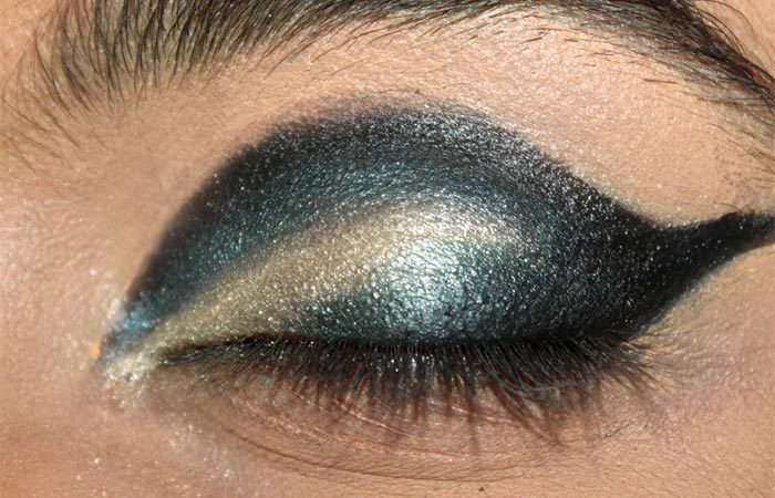 Cut Crease Arabic Eye Makeup Tutorial (7)