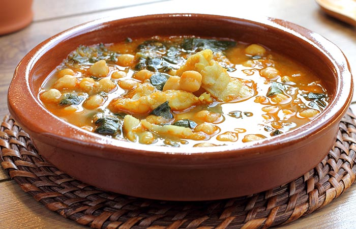 Easy Garbanzo Beans Curry Soup