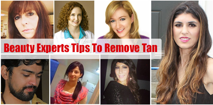 Experts Tips To Remove Tan