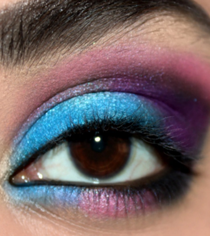 Galaxy-Inspired-Eye-Makeup-Tutorial-–-With-Detailed-Steps-And-Pictures
