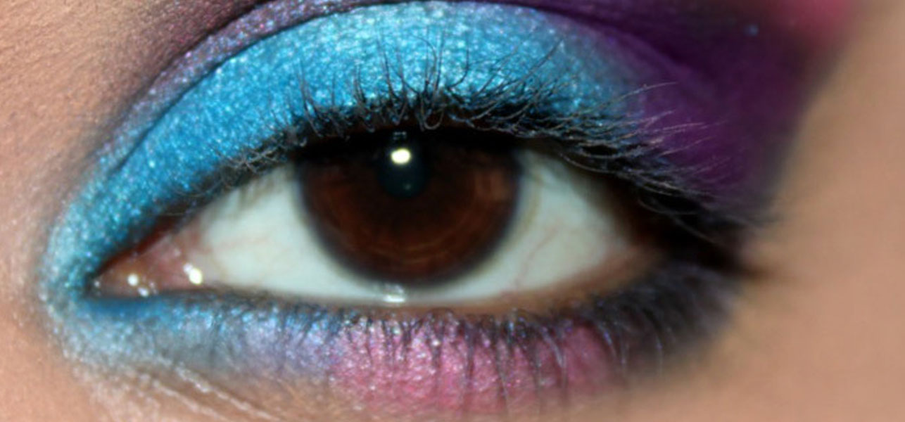 Galaxy Inspired Eye Makeup Tutorial - With Detailed Steps And Pictures