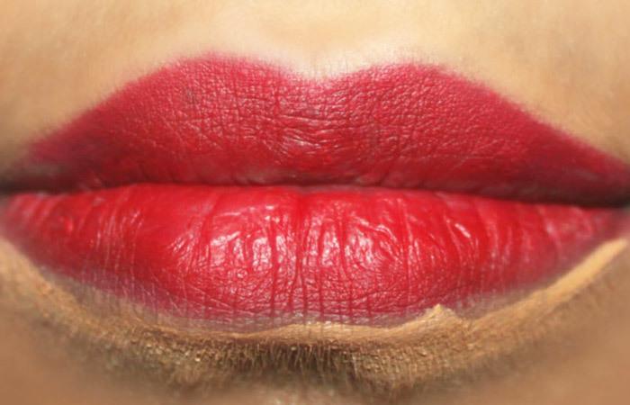 How To Get 3D Lips Makeup Tutorial (2)