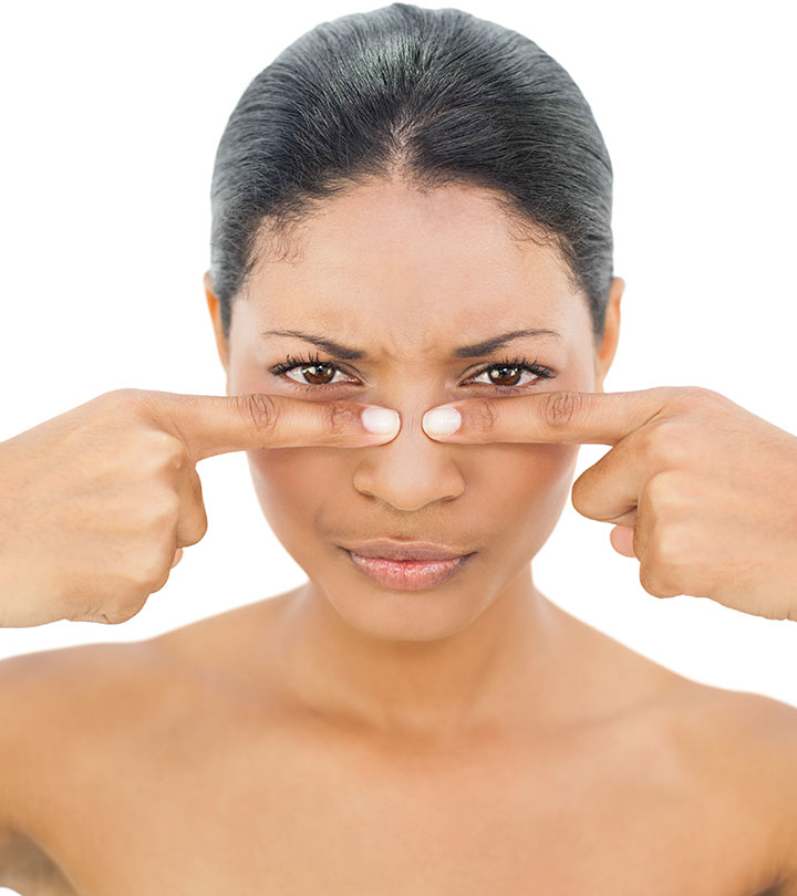 13 Ways To Get Rid Of Blackheads On The Nose
