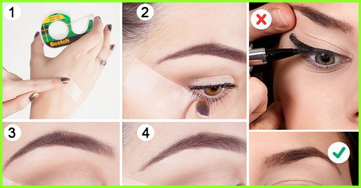Try It 6 Fantastic Ways To Create Perfect Winged Eyeliner