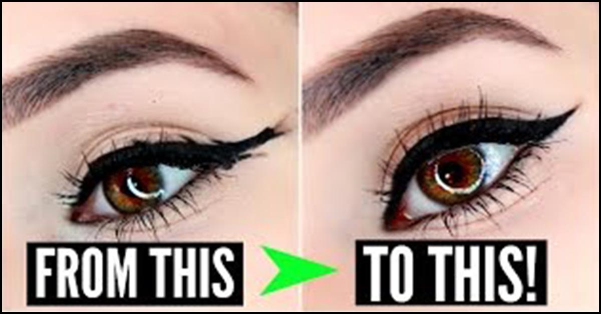 Moderne Try It: 6 Fantastic Ways To Create Perfect Winged Eyeliner! CX-11