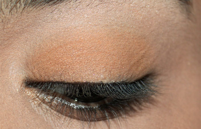 Katrina Kaif Eye Makeup - Step 1: Apply Eye Cream
