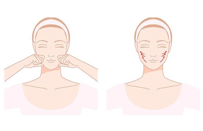 Massage The Cheeks