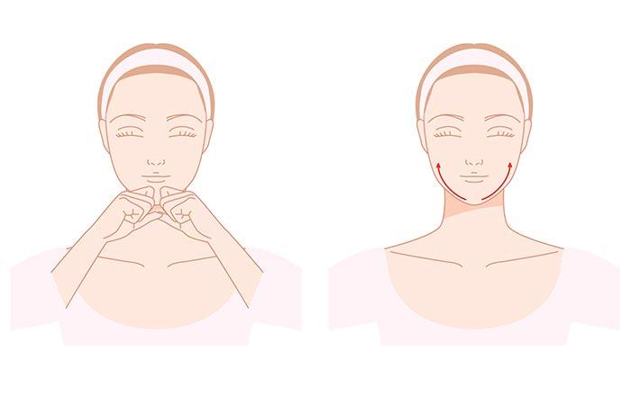 Massage The Chin Area