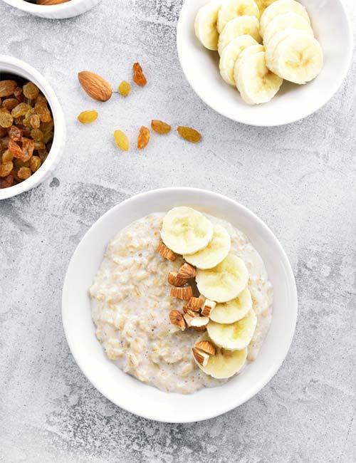 Oatmeal Peanut Porridge
