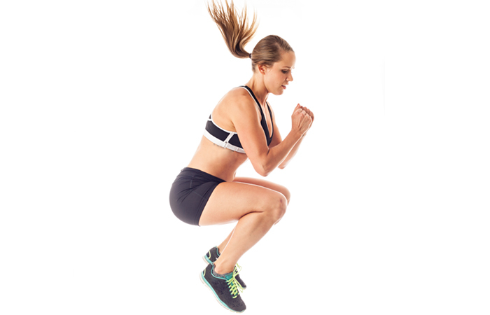 Plyometric Exercises - Tuck Jumps